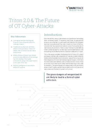Whitepaper: Triton 2.0 & The Future of OT Cyber-Attacks
